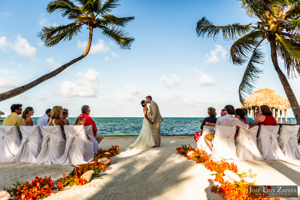 Victoria House Beach Wedding - Ambergris Caye Wedding Photographer, Jose Luis Zapata