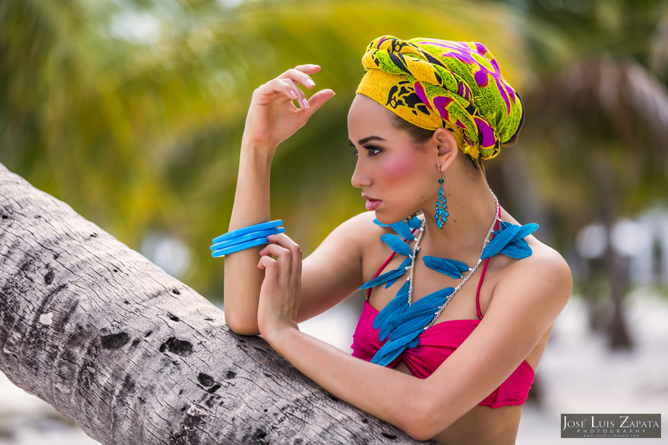 Fashion Photo Shoot with Guatemalan Model