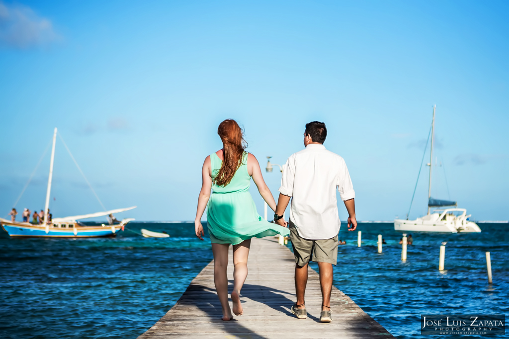 Luxury Honeymoon Belize Vacations. Honeymoon Photo Shoots in San Pedro Belize