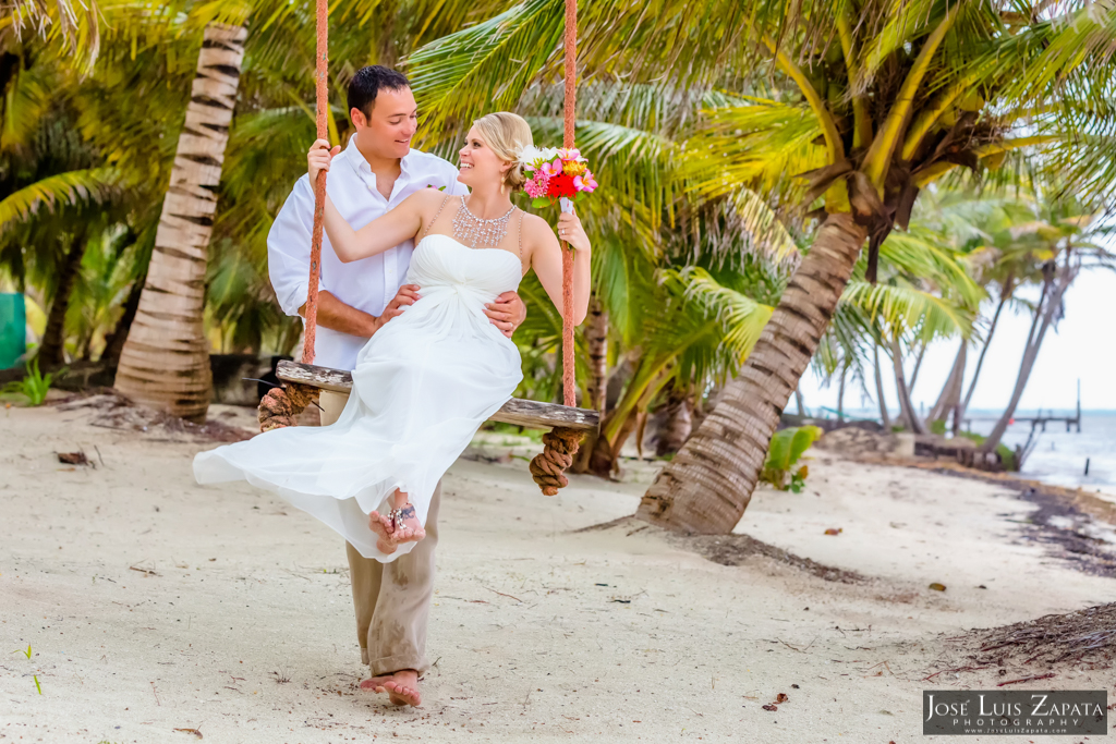 San Pedro Barefoot Weddings. La Isla Bonita, Belize Photographer Jose Luis Zapata (3)