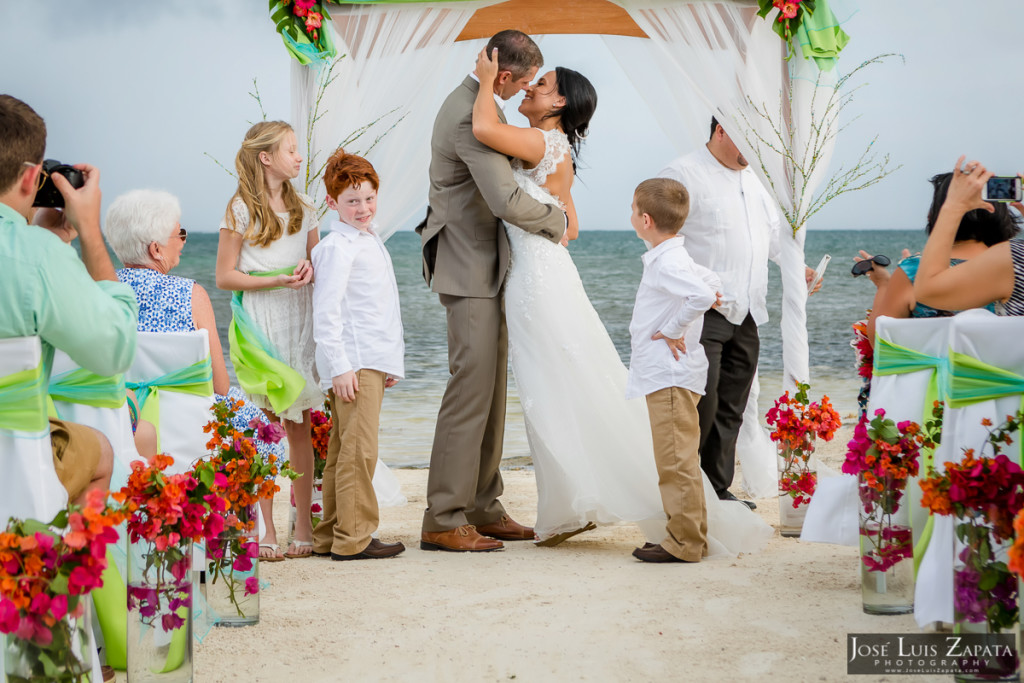 Destination Wedding, Coco Beach Belize Wedding