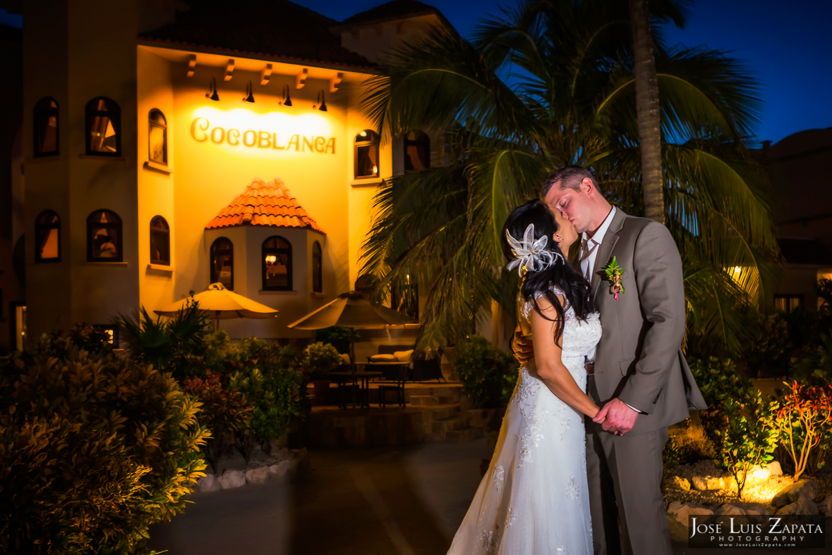Coco Beach Belize Wedding