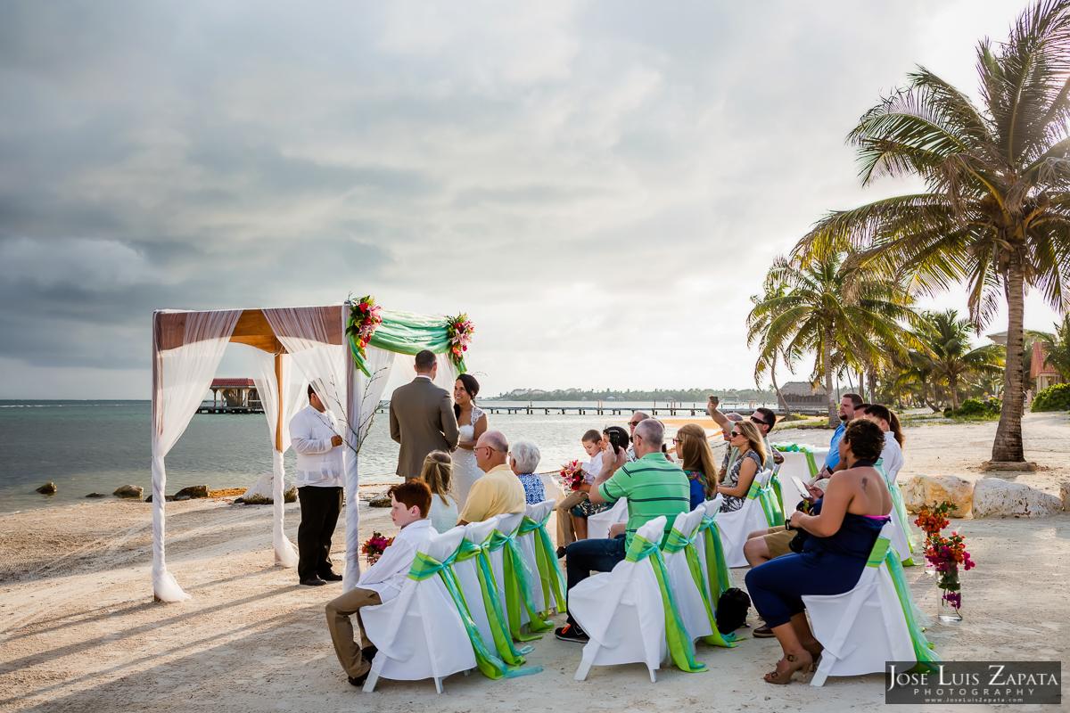 Destination Wedding At Coco Beach Resort Belize