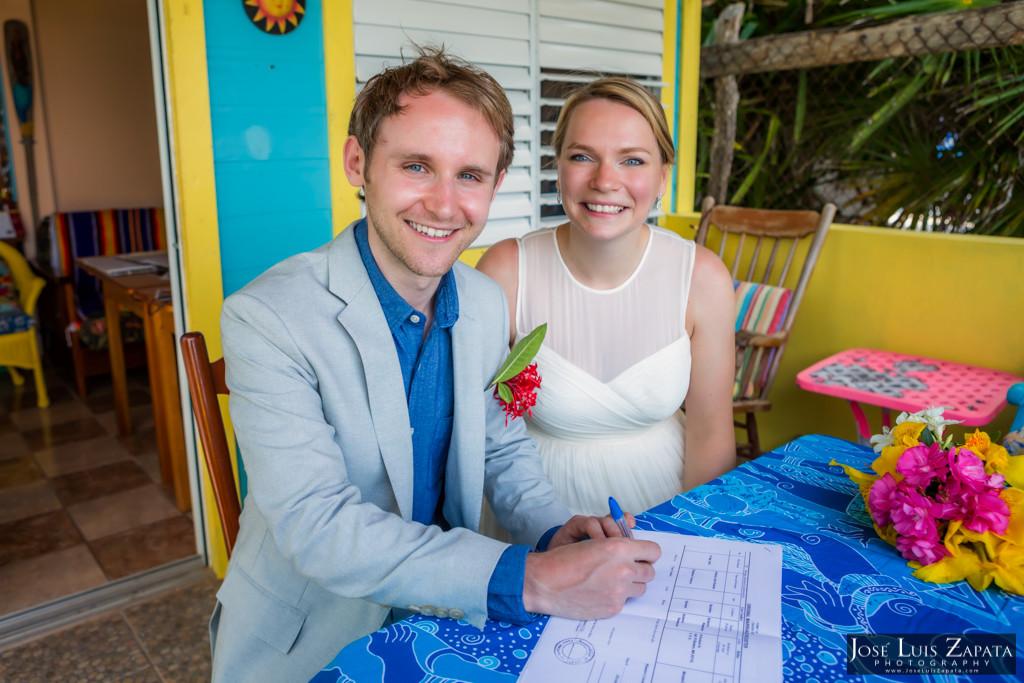 Caye Caulker Belize Wedding - Jose Luis Zapata photography