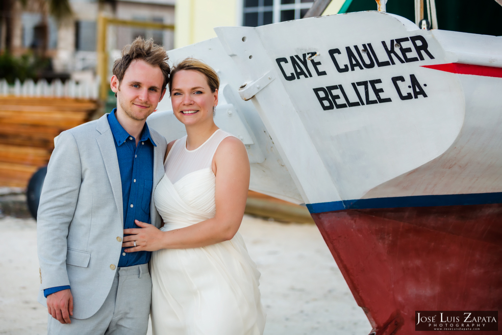 Caye Caulker Wedding Belize - Jose Luis Zapata photography