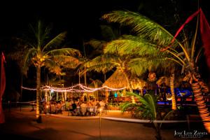 Ramon's Village Resort Beach Wedding Dinner Reception