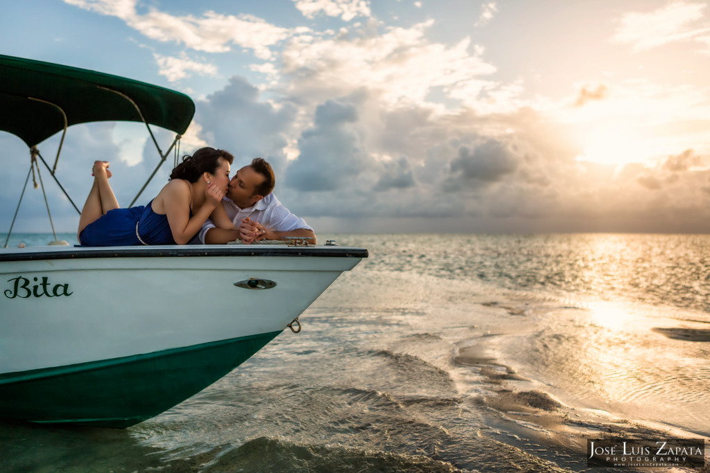 Sandbar Intimate Wedding - San Pedro Belize Photographer