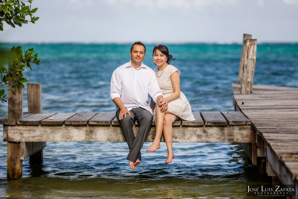 Sandbar Wedding - San Pedro Belize Wedding Photographer