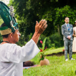 Mayan Ruin Wedding Fire Maya Ceremony Belize River