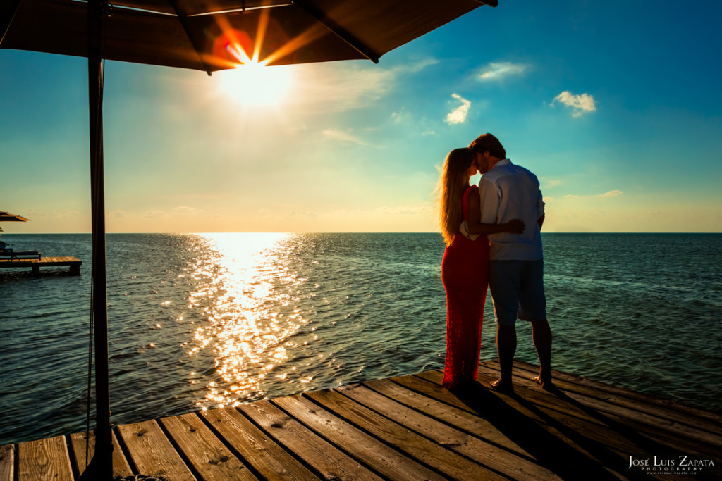 Cayo Espanto Engagement - Private Island Resort, Belize