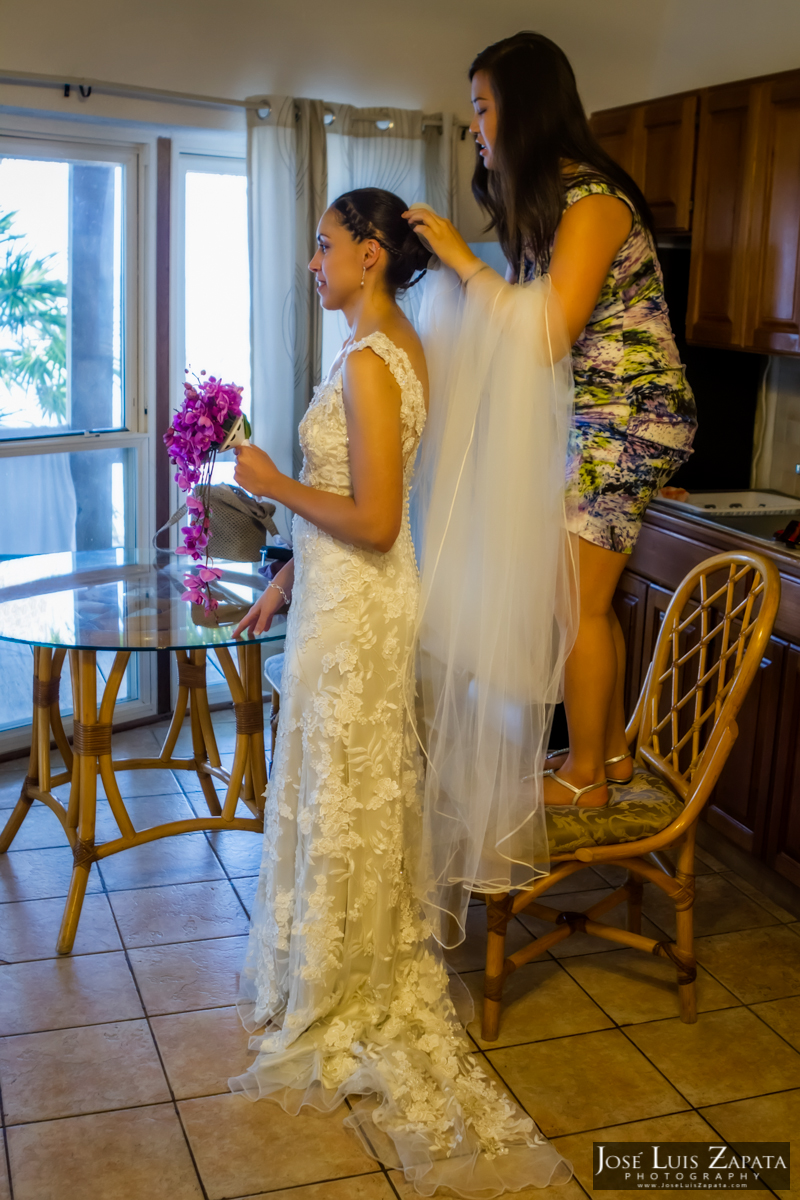 xanadu belize wedding san pedro ambergris caye