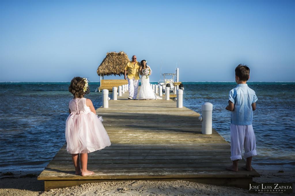 Wataview Wedding Belize - Luxury Beachfront Vacation Rental - Belize Photographer Jose Luis Zapata Photography
