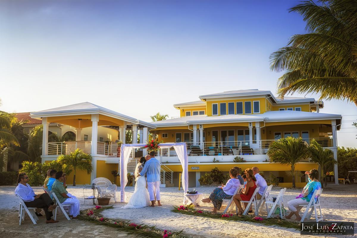 wataview belize wedding luxury beachfront vacation rental