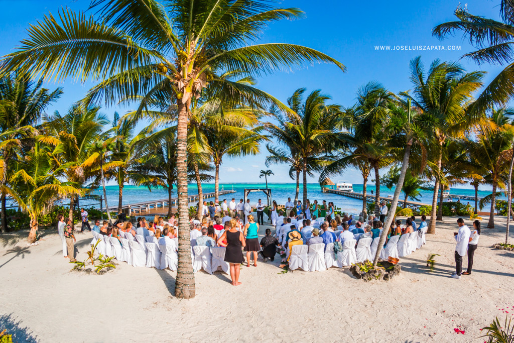 Destination Wedding, Ambergris Caye, San Pedro Belize, Jose Luis Zapata Photography