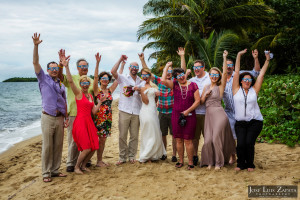 Hopkins Belize Wedding - Hamanasi Resort - Jose Luis Zapata Photography