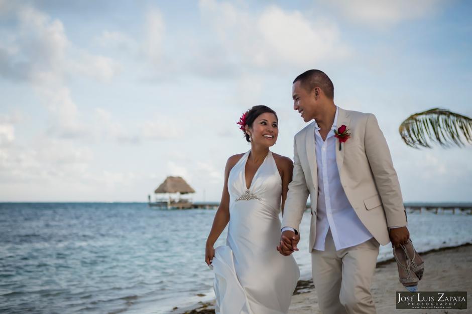 Victoria House Wedding Elopement - Victoria House Resort - Ambergris Caye, Belize Wedding