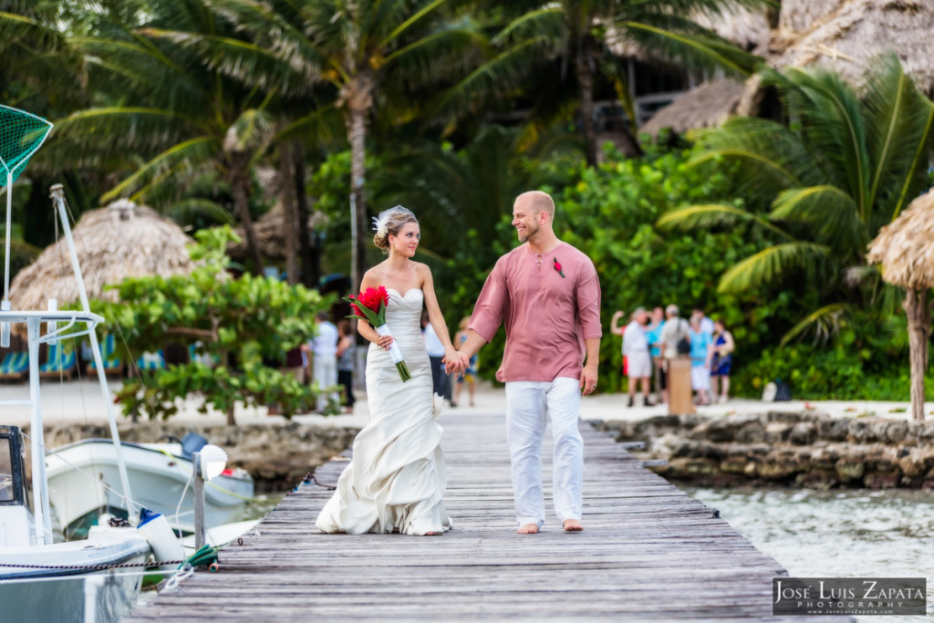 Xanadu Belize Wedding, Ambergris Caye - Photographer Jose Luis Zapata Photography