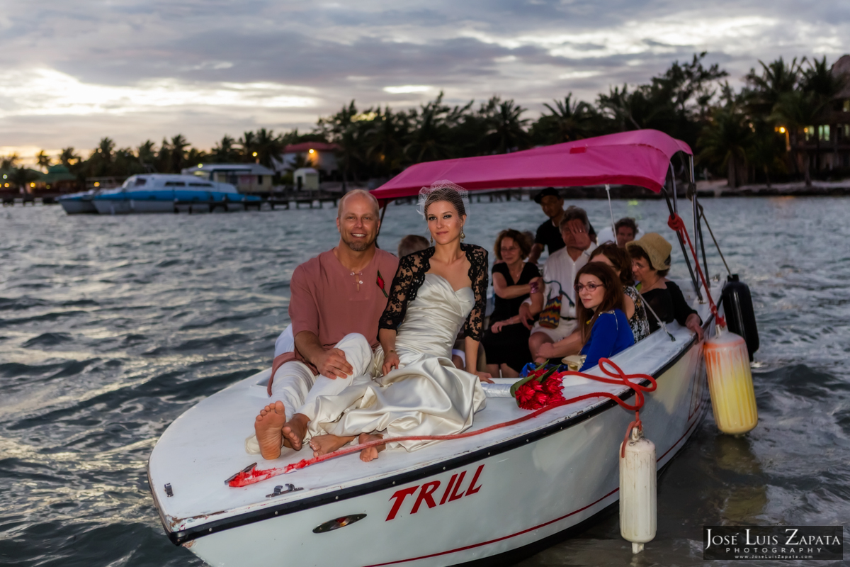xanadu resort wedding ambergris caye belize