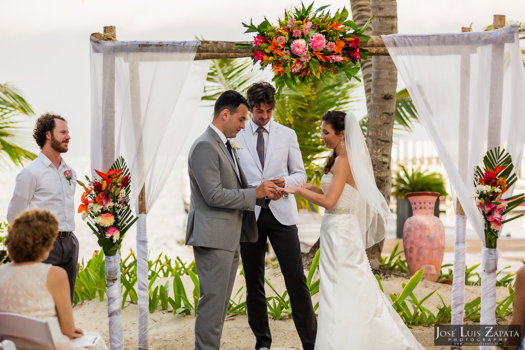 Las Terrazas Belize Wedding - Ambergris Caye Belize - Destination Wedding