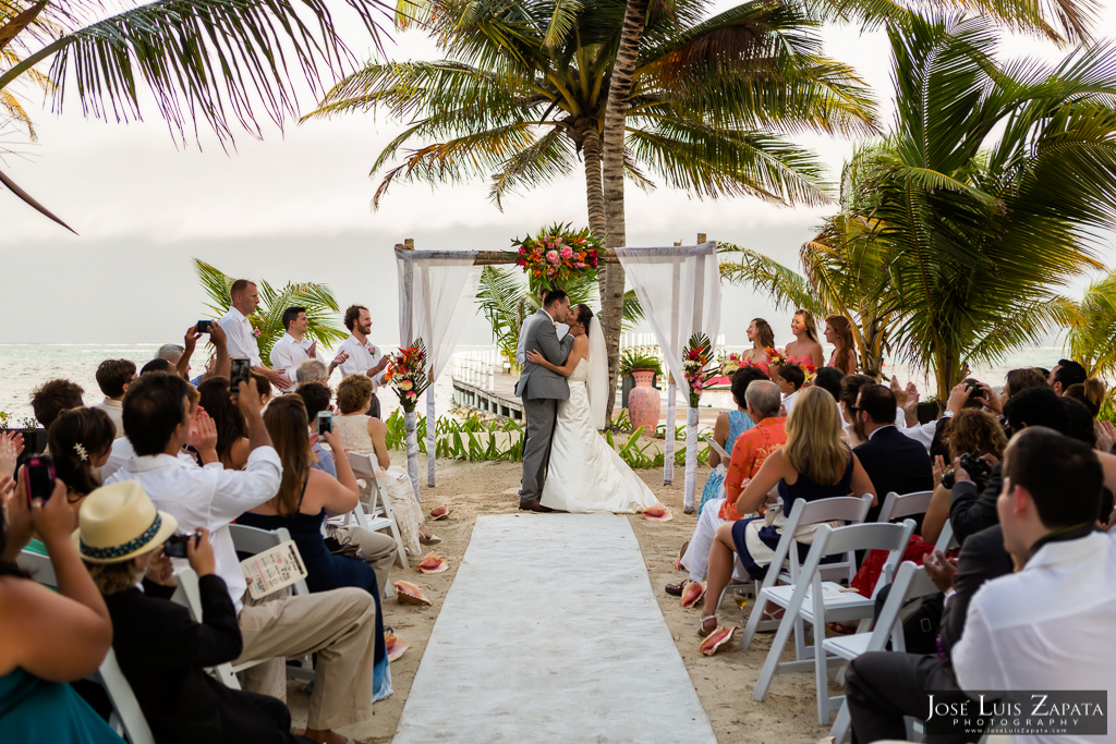 Las Terrazas Belize Wedding - Ambergris Caye Belize - Destination Wedding