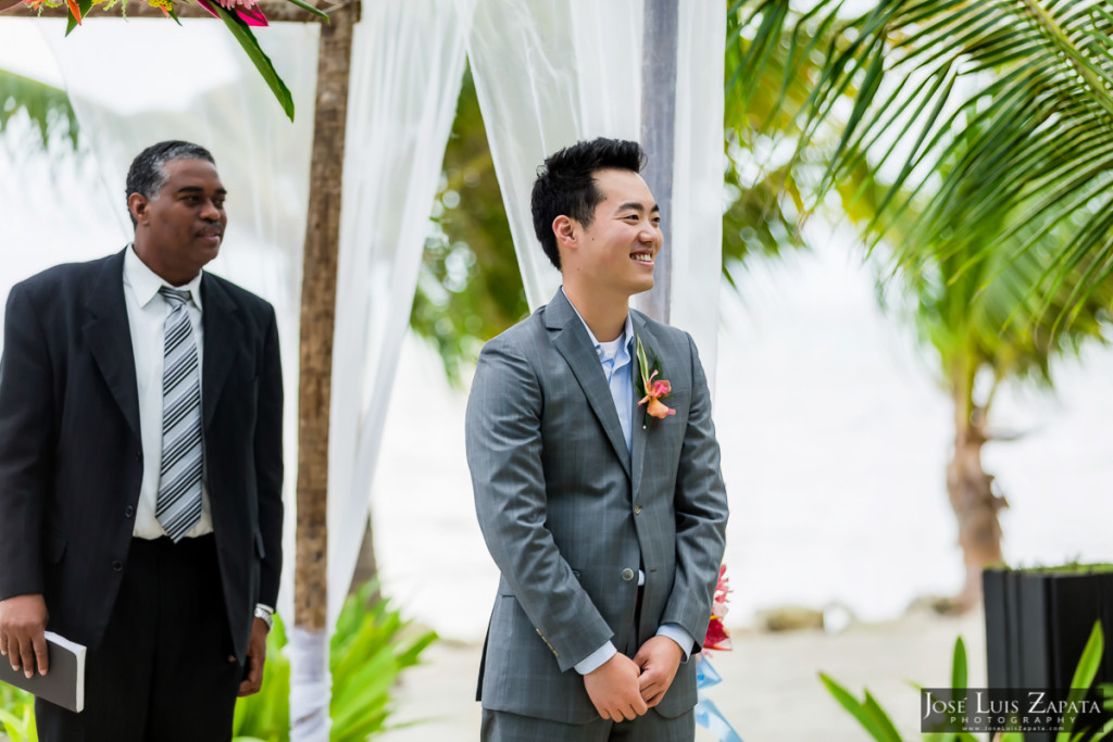 Las Terrazas Wedding Elopement, Ambergris Caye, Belize Weddings