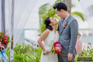 Las Terrazas Elopement, Ambergris Caye, Belize Weddings