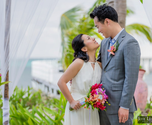 Las Terrazas Elopement   Ambergris Caye, Belize Weddings