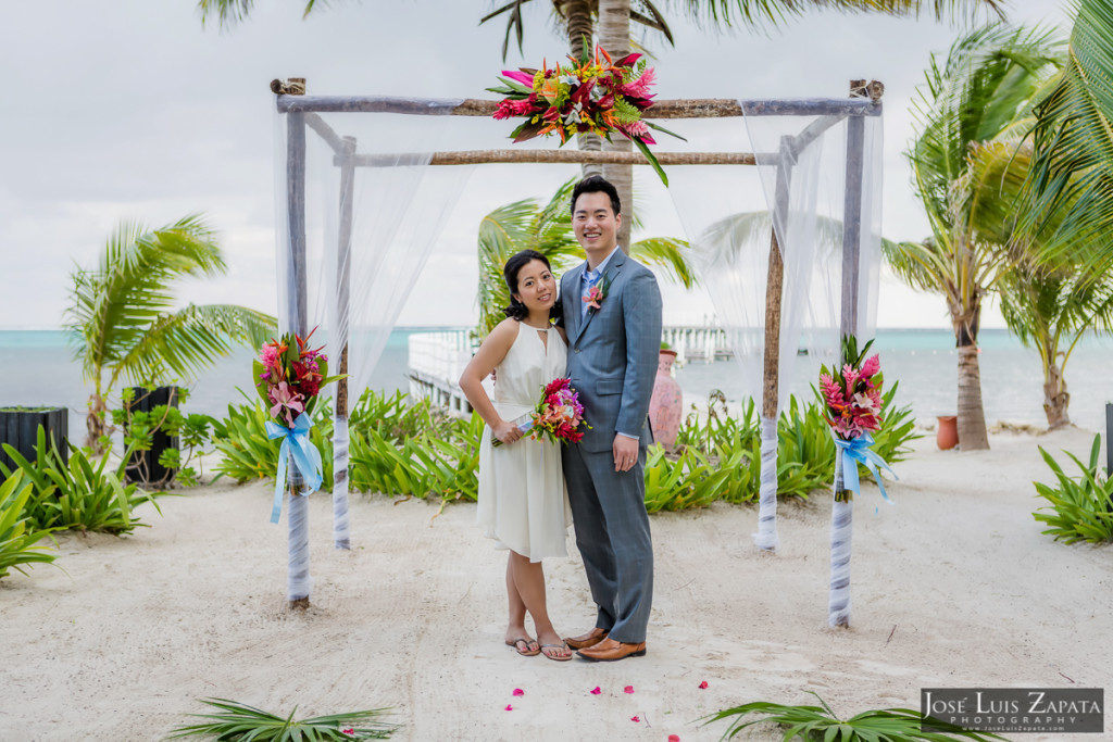 Las Terrazas Elopement, Ambergris Caye, Belize Weddings