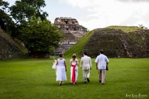 Xunantunich Mayan Ruin Wedding - Cayo, Belize - Maya Wedding
