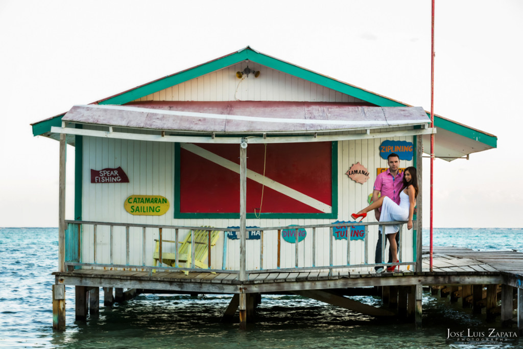 San Pedro Ambergris Caye Wedding Photo Shoot - Beach Photo Shoot - Belize Photographer