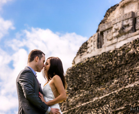 Xunantunich Wedding Photo Shoot