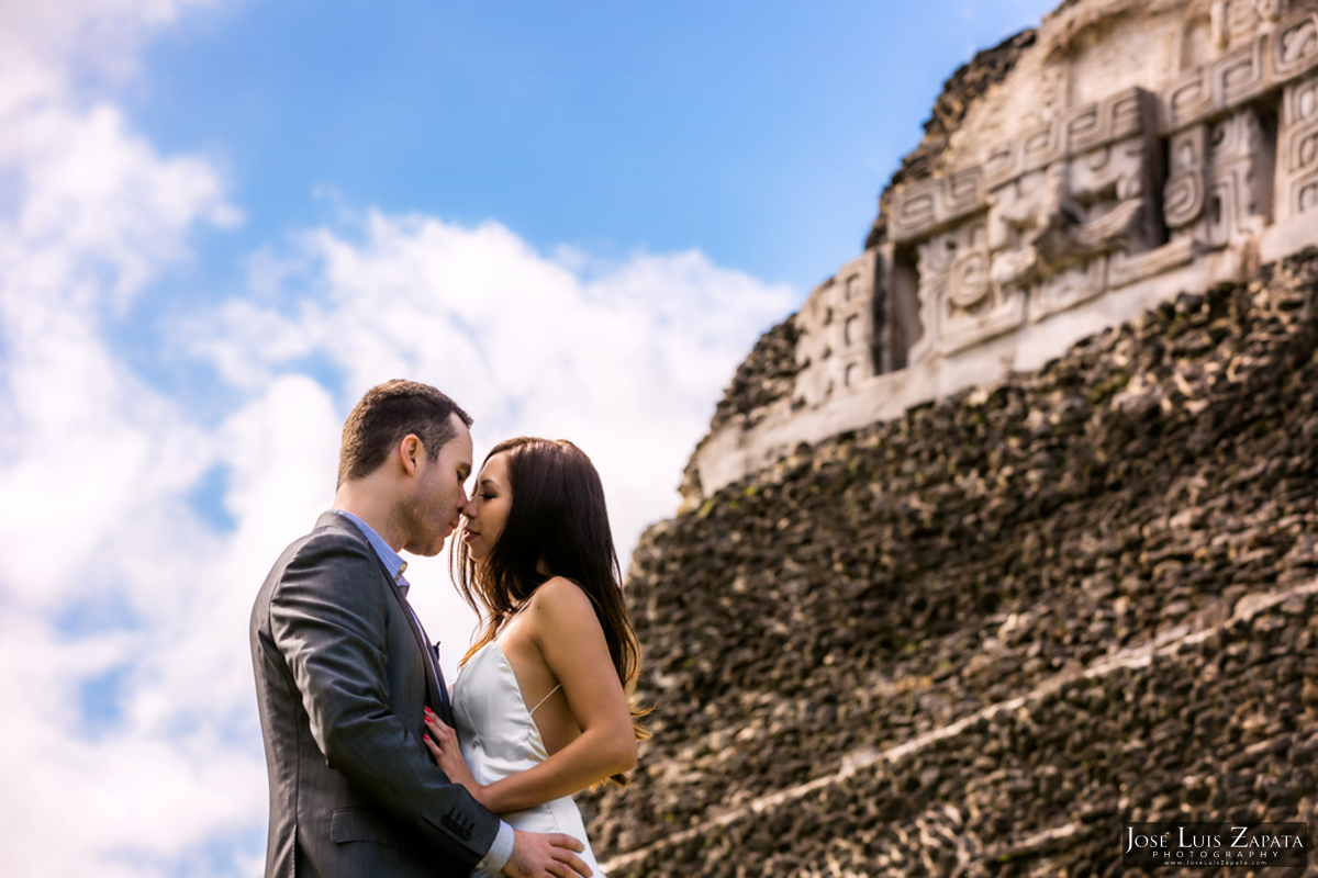 Xunantunich Wedding Photo Shoot Beach Photo Shoot - Belize Photographer
