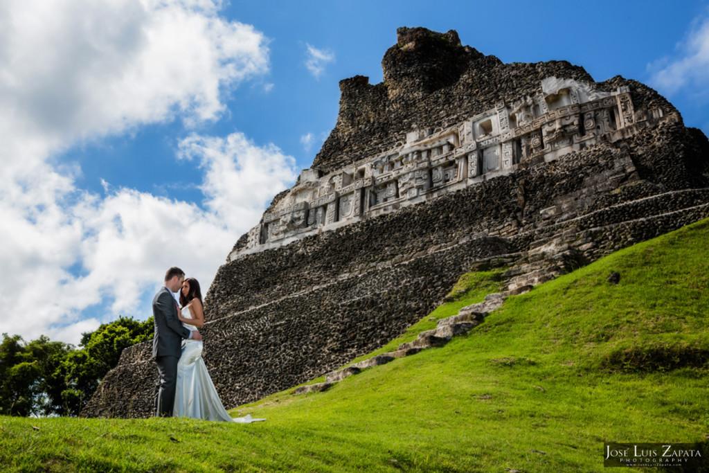 Xunantunich Wedding Photo Shoot Beach Photo Shoot - Belize Photographer