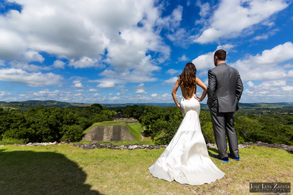 Xunantunich Wedding Photos -  Beach Photo Shoot - Belize Photographer