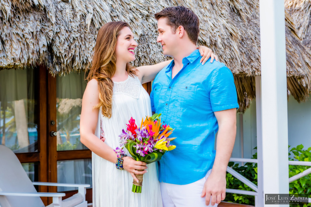 San Pedro Sandbar Wedding, Ambergris Caye, Belize Wedding