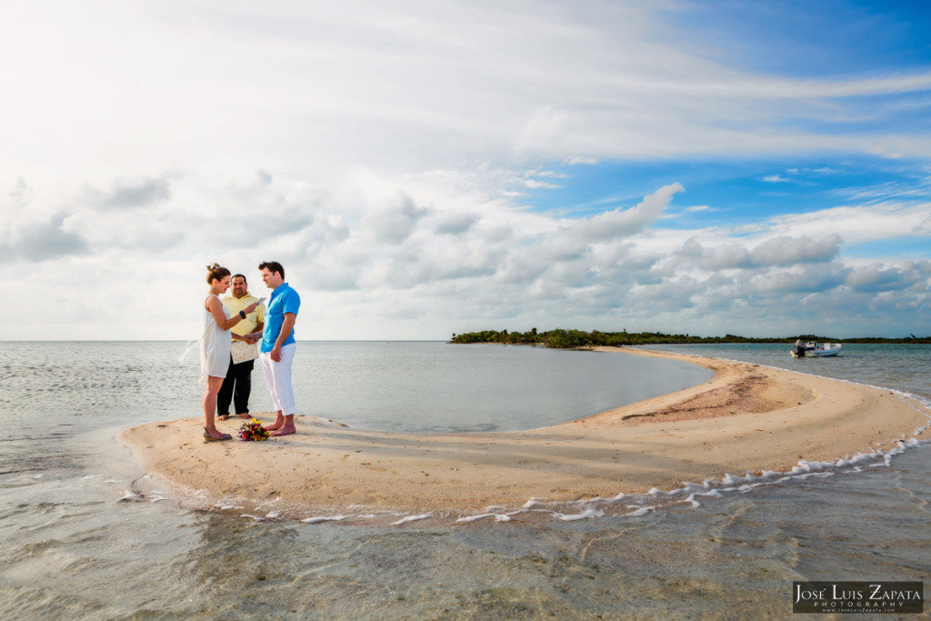 San Pedro Sandbar Elopement Wedding, Ambergris Caye, Belize Wedding (28)