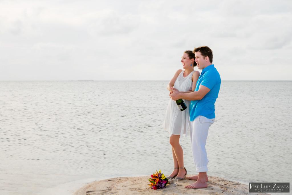San Pedro Sandbar Elopement Wedding, Ambergris Caye, Belize Wedding (24)
