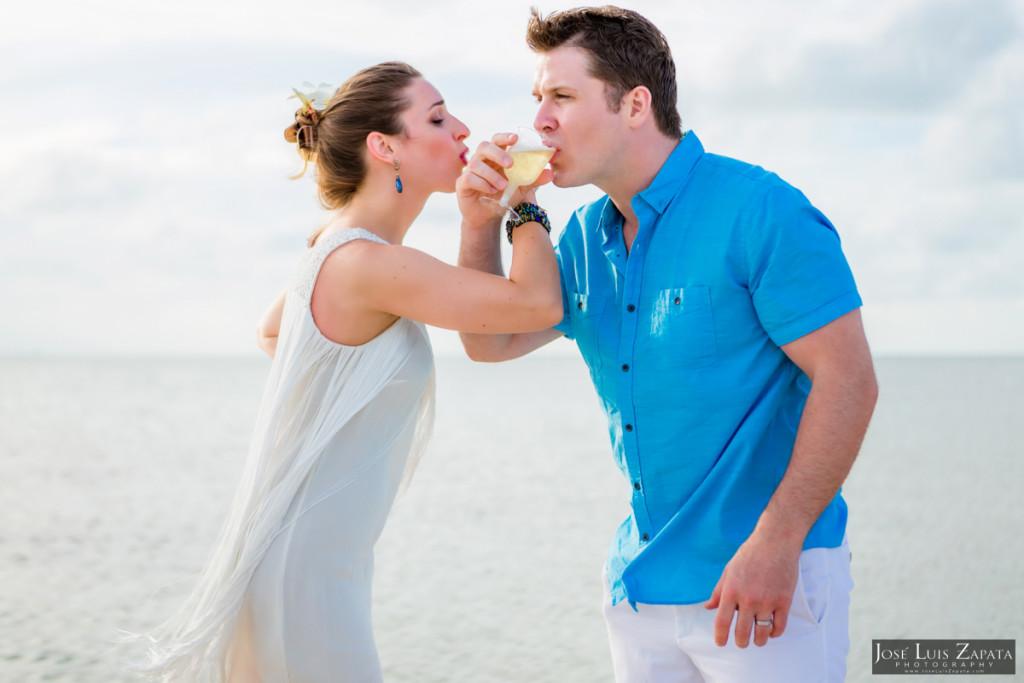 San Pedro Sandbar Elopement Wedding, Ambergris Caye, Belize Wedding (23)