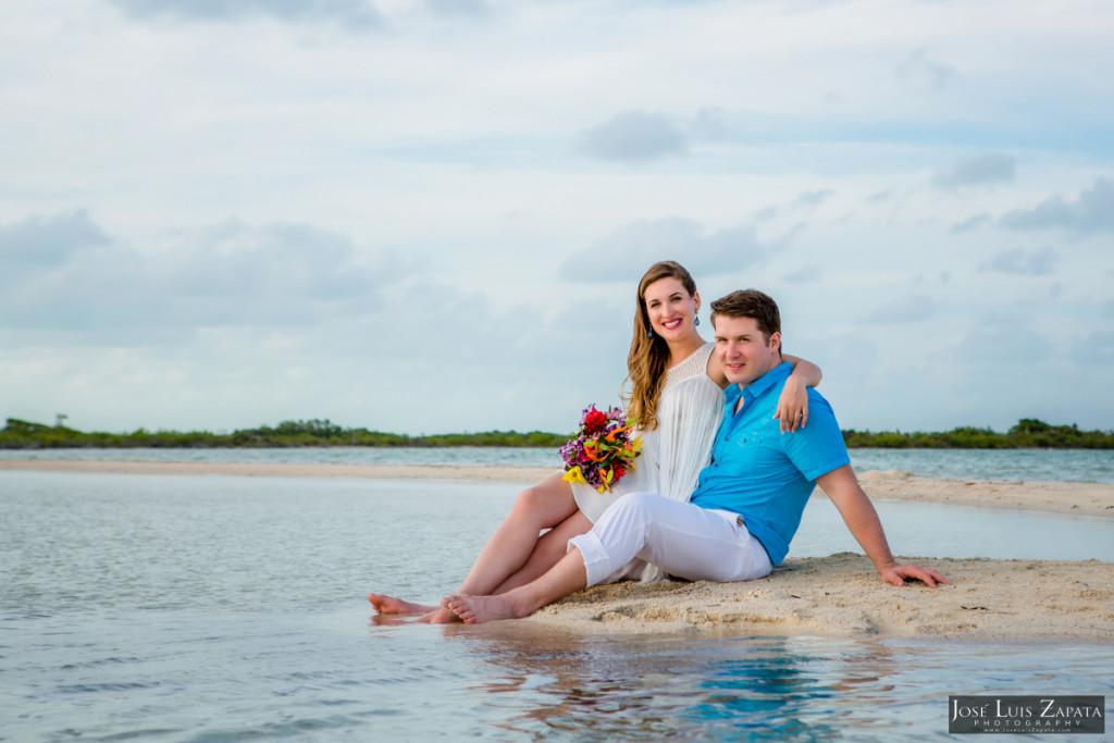 San Pedro Sandbar Elopement Wedding, Ambergris Caye, Belize Wedding (19)