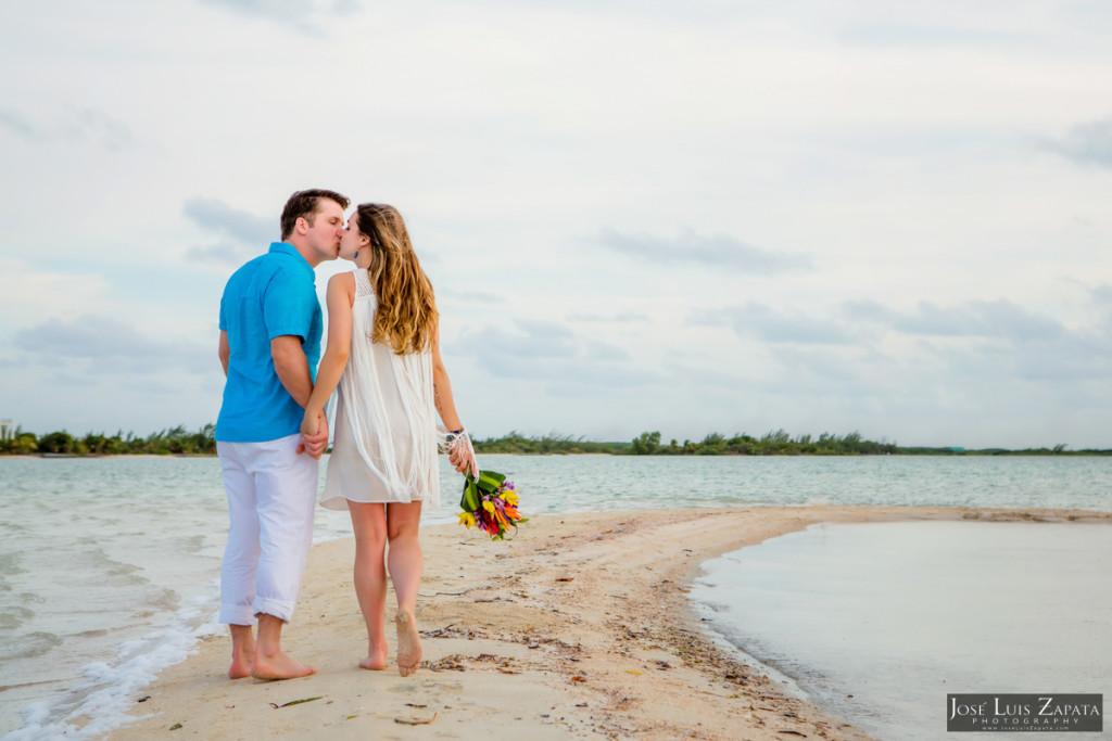 San Pedro Sandbar Elopement Wedding, Ambergris Caye, Belize Wedding (16)