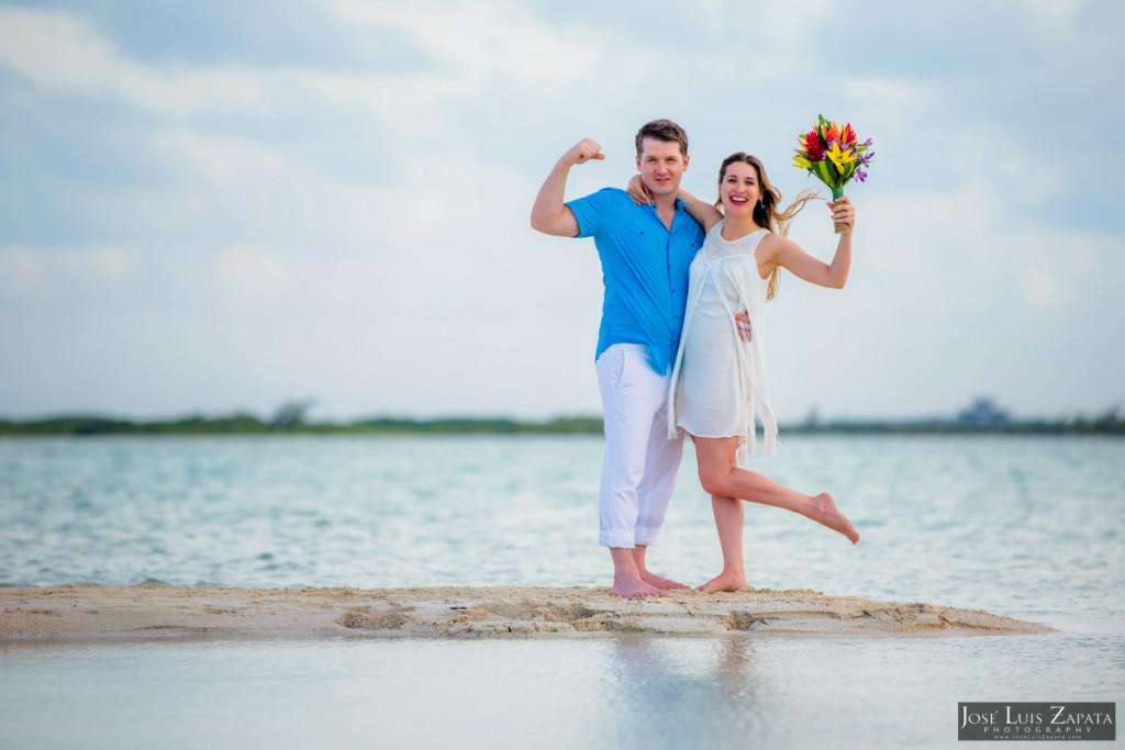 San Pedro Sandbar Elopement Wedding, Ambergris Caye, Belize Wedding (15)