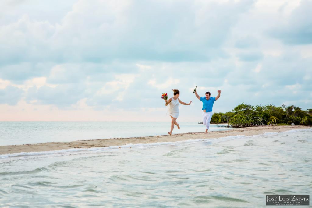 San Pedro Sandbar Elopement Wedding, Ambergris Caye, Belize Wedding (10)