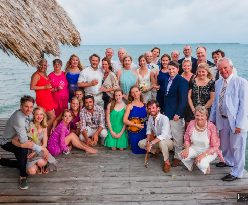 Placencia Beach Wedding