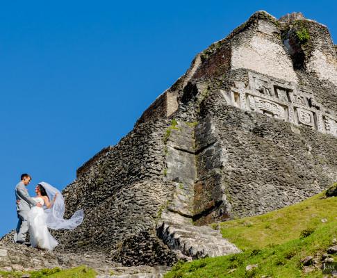 Mayan Wedding and Next Day Beach Photos