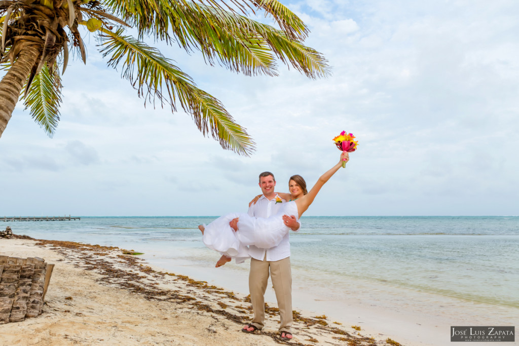 Brian & Jamie - Banyan Bay Resort, Belize Wedding