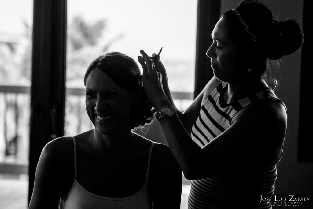 Chet & Kelli Coco Beach Wedding San Pedro Belize (3)