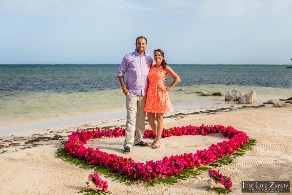 Chet & Kelli Coco Beach Wedding San Pedro Belize (43)