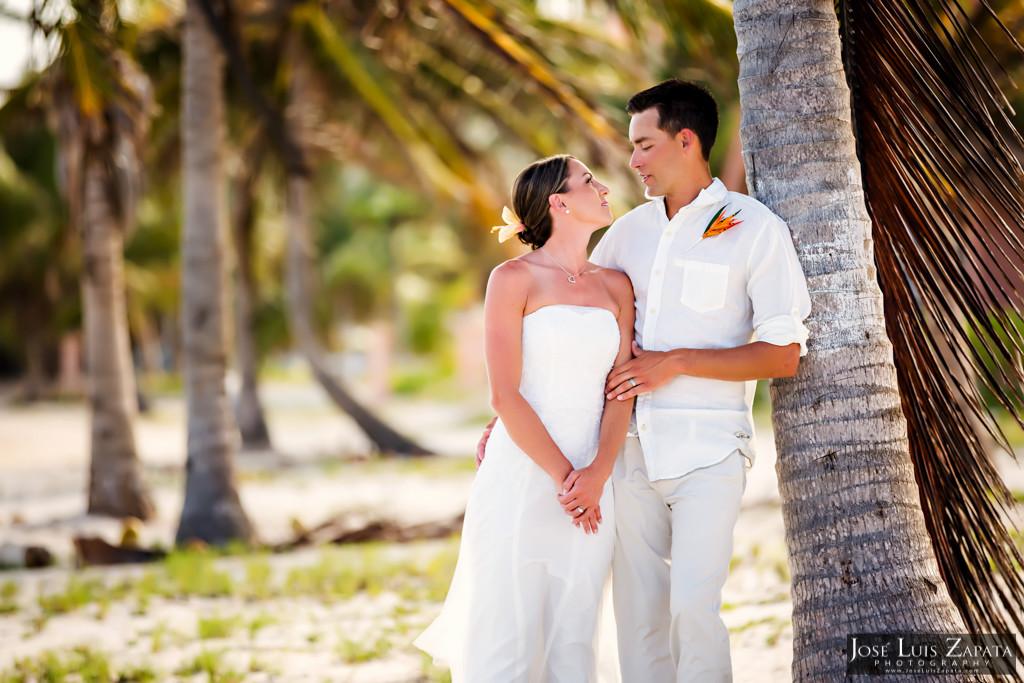 Chet & Kelli Coco Beach Wedding San Pedro Belize (44)