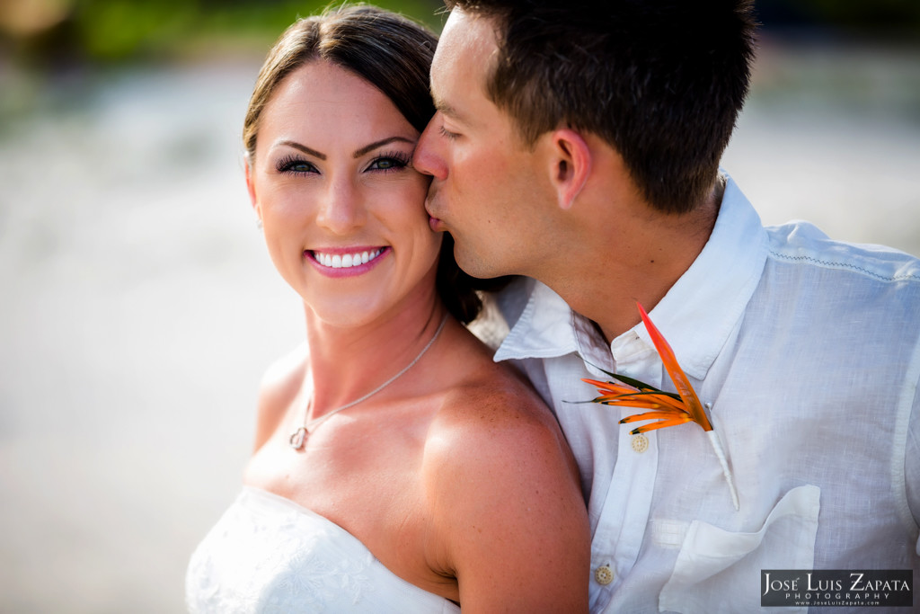 Chet & Kelli Coco Beach Wedding San Pedro Belize (45)