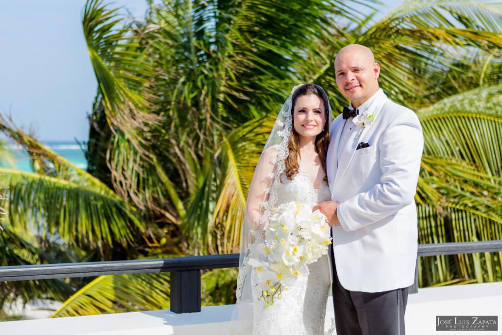 Craig & Melissa - Las Terrazas San Pedro Belize Next Day Wedding Photos